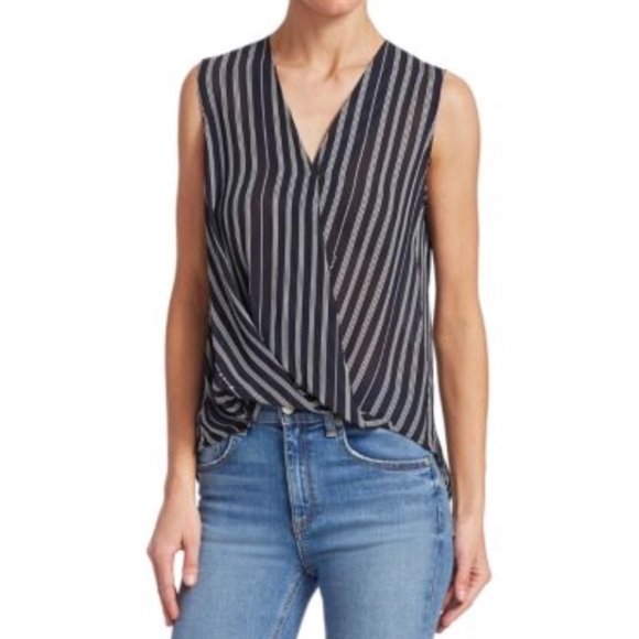 de930f8594a5f Rag   Bone Sleeveless Victor Striped Blouse. M 5b8aba5f8869f70cd33c5767